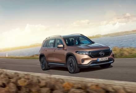 Mercedes-Benz a prezentat SUV-ul EQB la Shanghai