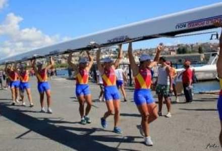 Echipajele Romaniei de dublu rame fara carmaci au obtinut doua medalii de aur