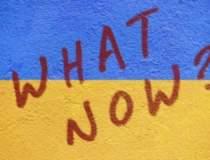 Drapel ucrainean, arborat pe...