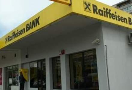Raiffeisen: profitul in Romania a scazut cu 16% in S1, la 47 mil. euro