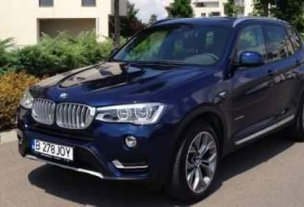 Test Drive Wall-Street: BMW X3, facelift cu stil