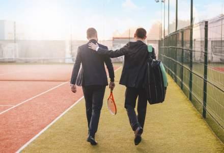 """Cum să-ți găsești """"jumătatea"""" la tenis, badminton sau squash. Ideea de afacere a unor români stabiliți în Londra"""