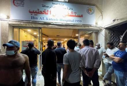 Incendiu devastator într-un spital COVID din Irak: 82 de decese până în prezent