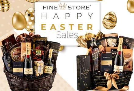 (P) Coșurile cadou de Paște, semn al aprecierii pentru parteneri și angajați. Recomandări de la FineStore