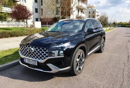 #WSDriveTest cu Hyundai Santa Fe facelift - tehnologii noi