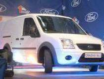 First Ford Transit Connect...