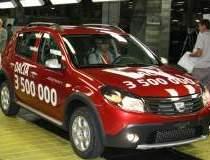 Uzina Dacia a produs 3,5 mil....