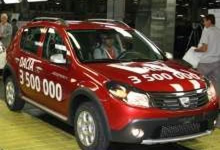 Uzina Dacia a produs 3,5 mil. vehicule in 41 ani