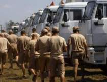 Un nou convoi umanitar rus va...