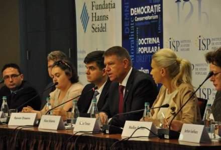 """Klaus Iohannis: Sistemul nostru educational sufera de o boala care se numeste """"reformita"""""""