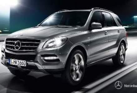 Mercedes-Benz va redenumi SUV-urile. Primul care isi schimba numele este SUV-ul ML