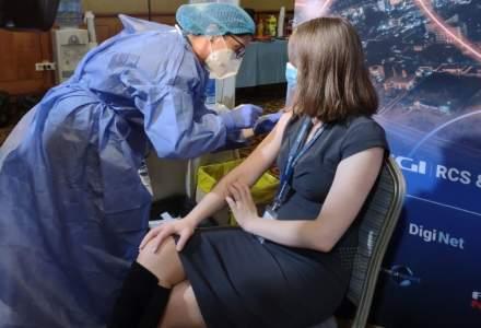 Grupul Digi a organizat un centru mobil de vaccinare:câte persoane s-au imunizat până în prezent