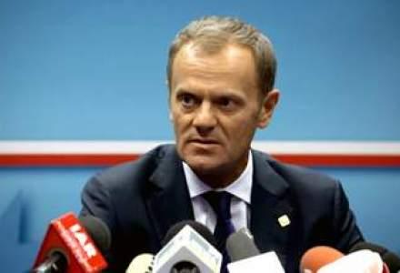 Tusk a fost desemnat presedinte al Consiliului European, iar Mogherini sefa a diplomatiei UE