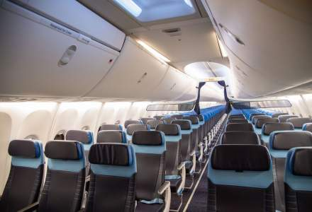 KLM schimbă interiorul avioanelor sale