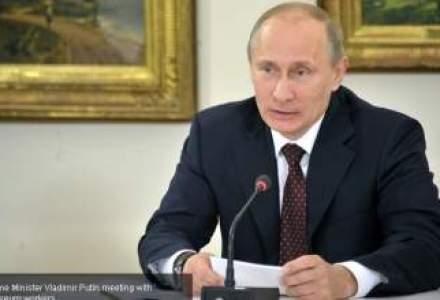 Fotografii cu Putin, folosite ca tinta intr-un poligon din vestul Ucrainei