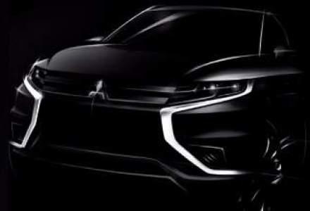 Mitsubishi Motors lanseaza Outlander PHEV Concept-S la Paris