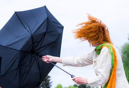 ANM: Cod galben de vânt puternic în mai multe județe din Moldova