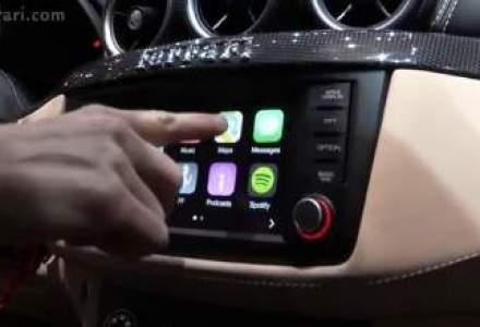 Primul Ferrari FF cu sistemul Apple CarPlay ajunge in Romania anul viitor