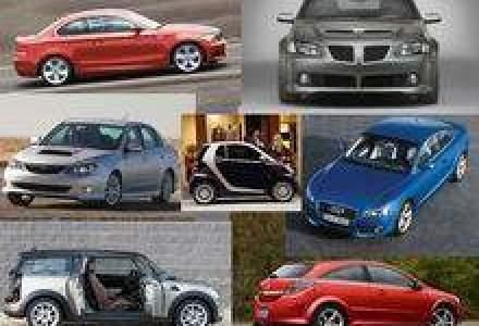 Top: 80 de modele de masini au fost lansate pe timp de criza