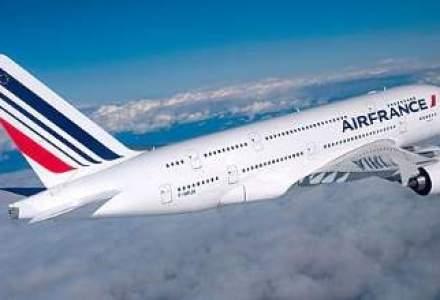 Jumatate din aeronavele Air France au ramas la sol din cauza grevei pilotilor