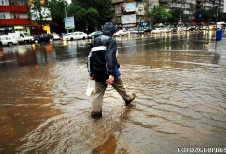 Cod galben de inundatii in Maramures, Salaj si Bistrita-Nasaud