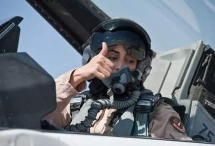 Femeia din Emiratele Arabe de care se tem toti: ea a lansat bombele impotriva Statului Islamic [VIDEO]