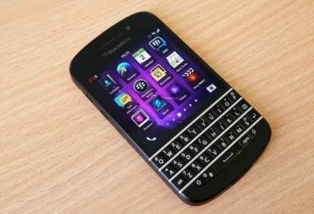 BlackBerry, pierdere trimestriala mai mica decat estimarile initiale