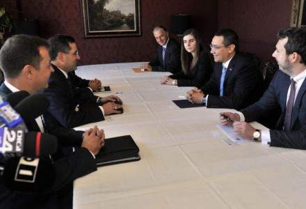Ponta, intalniri cu un sef ExxonMobil