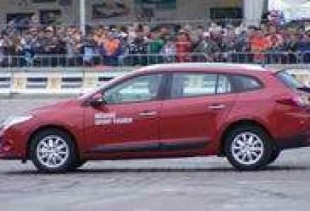 Renault a prezentat in Piata Constitutiei noul Scenic si Megane Sport Tourer