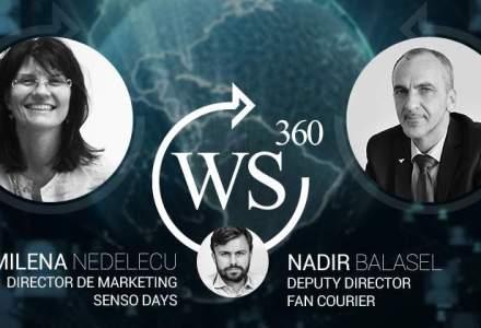 Milena Nedelcu, de la SensoDays.ro, invitata WALL-STREET 360