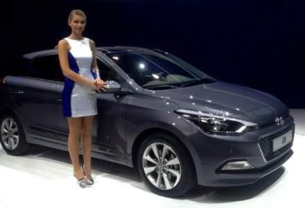 Paris 2014: Hyundai a prezentat noul i20 si modelul comercial H350