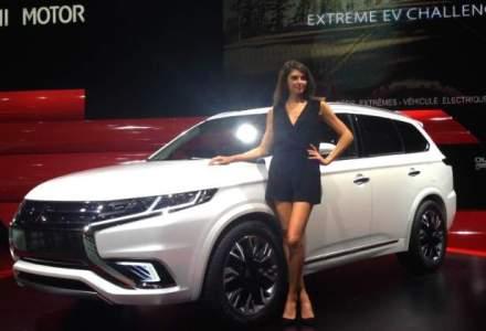 Paris 2014: Mitsubishi a dezvaluit in premiera mondiala Outlander PHEV Concept-S