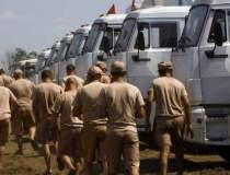 Un convoi umanitar german se...