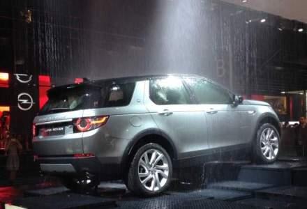 Paris 2014: Land Rover lanseaza primul model din noua familie de SUV-uri Discovery