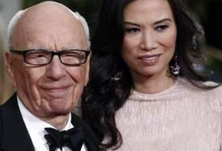 Un divort de milioane de lire sterline: fiica lui Murdoch se desparte de sot