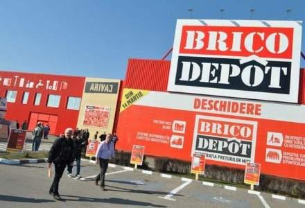 Kingfisher deschide vineri, 17 octombrie, al treiea magazin Brico Depot din Romania