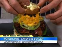 Cel mai scump burger din lume...
