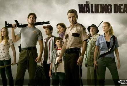 Televiziunea AMC, distribuitoare a serialului The Walking Dead, intra in Romania