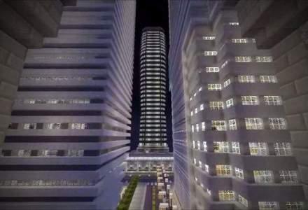 Talent sau maiestrie? Un impatimit al jocului Minecraft a petrecut doi ani pentru a construi acest oras spectaculos [VIDEO]