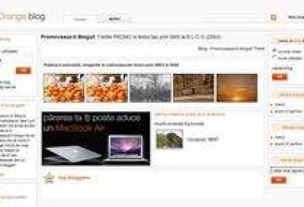 Orange lanseaza o platforma de blog