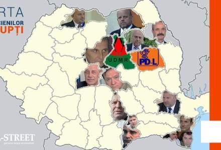 Coruptii care au impanzit Romania. Harta baronilor penali descoperiti in lunile pre-alegeri