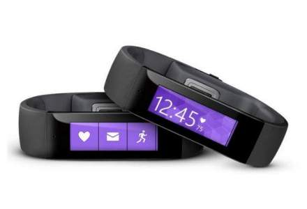 Microsoft lanseaza prima sa bratara de fitness