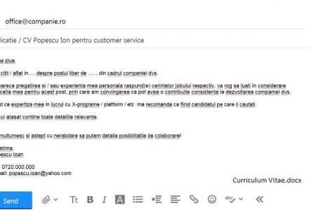 Mail-ul care poate avea ca reply jobul la care visai. Tu stii ce si cum sa scrii ca sa trezesti interesul angajatorului?