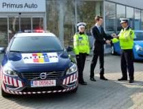 Politia a primit un Volvo V60