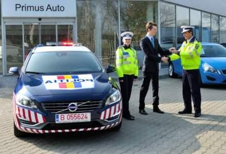 Politia a primit un Volvo V60 pentru 6 luni