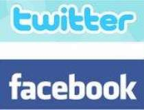 Facebook si Twitter, printre...