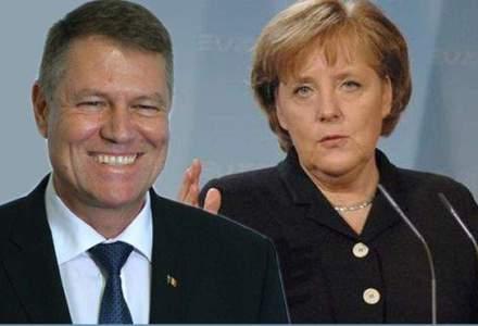 Angela Merkel, catre Iohannis: Relatiile dintre Romania si Germania pot fi aprofundate