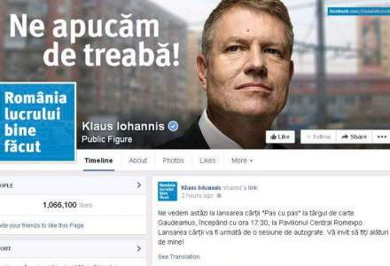 Klaus Iohannis sparge un nou record: politicianul cu cele mai multe like-uri pe Facebook din Europa