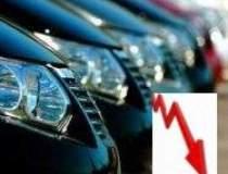 Piata auto, in declin cu 54%...