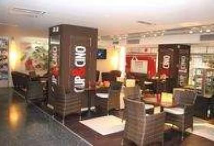 O noua cafenea Cup&Cino in AFI Palace Cotroceni. Investitie - 70.000 euro